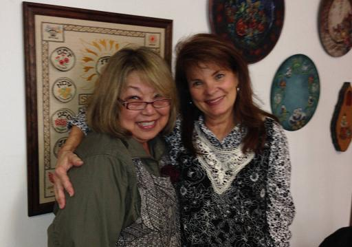 Michele Walton & Bobbie T. ;April 2014