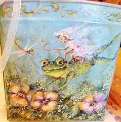 Frog & Fairy by Bobbie T.