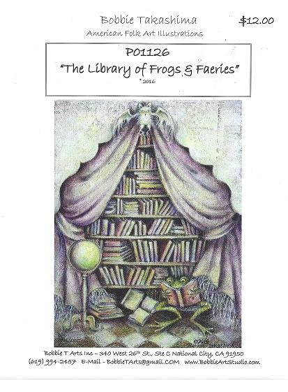 P01126 The Library of Frogs & Fairies