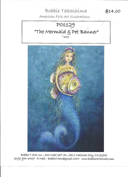P01129 The Mermaid & Pet Banner