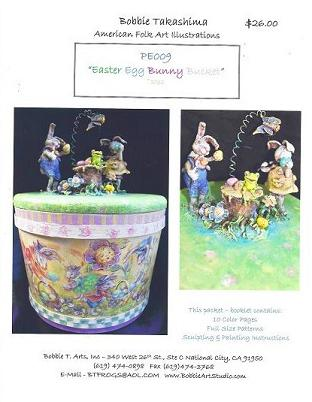PE009 Easter Egg Bunny Bucket