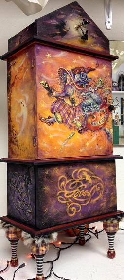 PP073 Spells & Potions Cupboard by Bobbie T.